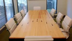 wood conference tables for sale bowling alley conference table buro series