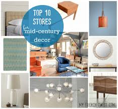Midcentury Modern Decor - midcentury modern style and influence my french twist