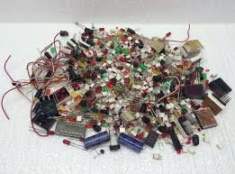 Parts For Jewelry Making - variety of vintage resistors radio electronic 350 parts for