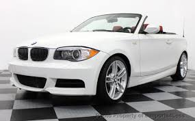 used bmw 1 series convertible 2013 used bmw 1 series certified 135i m sport convertible