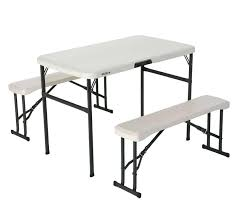Lifetime Folding Picnic Table Lifetime Folding Picnic Table Picnic Tables Home Depot Folding