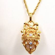 new necklace collection images Joan rivers classics collection faberge egg pendant and necklace jpg
