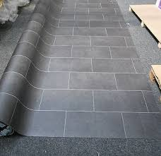 black tile effect vinyl flooring carpet vidalondon