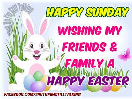 easter easter bunny wish you happy easter sunday 2018 quotes sayings images