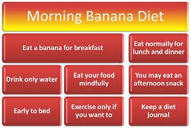 japanese morning banana diet plan review 101dietplans com