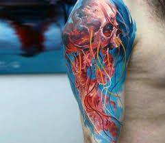 60 badass skull tattoos for masculine design ideas