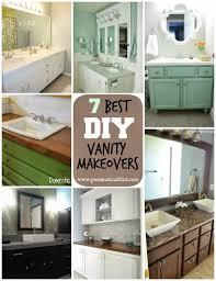Diy Bathroom Vanity Ideas Bathroom Vintage Makeup Vanity Vanity Plans Diy Bathroom Vanity