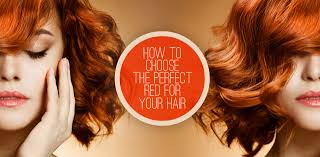 ginger hair color at home how to choose the perfect red for your hair color based on your