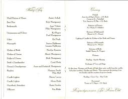 exles of wedding reception programs wedding reception program sle 28 images wedding anniversary