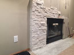 fireplace stone facing ideas fireplace cultured stone veneer yoder