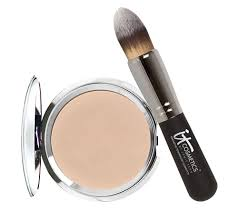 it cosmetics hello light anti aging creme luminizer with brush