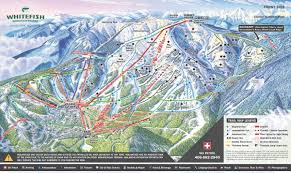 Map Of Colorado Ski Areas by Overview Of Whitefish Mountain Resort Montana Snowpak