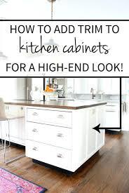 Molding Kitchen Cabinet Doors 100 Kitchen Cabinet Door Trim Molding Trim On Cabinet Doors