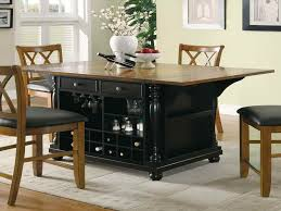 kitchen island table on wheels wooden portable kitchen island wheels designs ideas and decors