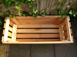 upcycle making a planter from bed frame slats the artful thrifter