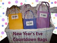 new year goodie bag new years party bag new years or other occasions