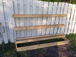 Building A Vegetable Garden Box by Diy Tiered Planter Vegetable U0026 Herb Garden Sunshine Dad