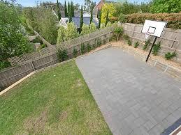 Backyard Basketball Hoops Best 25 Backyard Basketball Court Ideas On Pinterest Outdoor