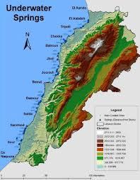 Map Of Lebanon Lebanon Beterson Water International