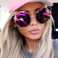 designer sonnenbrillen gã nstig übergroßen gold beliebten spiegel sonnenbrille cat eye marke