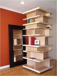 bookshelf room divider with door room divider bookcase hall asian