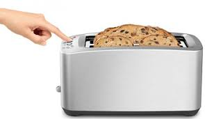 Motorised Toaster Breville Bta830 Smart Toast 4 Slice Toaster Appliances Online