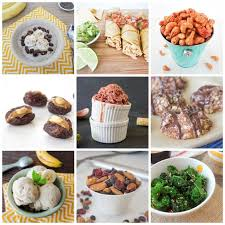 21 healthy snack ideas one ingredient chef