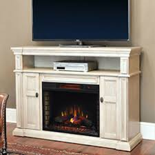 Fireplace Console Entertainment by Wyatt Infrared Electric Fireplace Media Console In Weathered