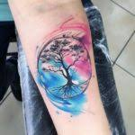 watercolor tree inkstylemag