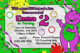 caillou birthday invitations lovely barney birthday party u2014 criolla brithday u0026 wedding
