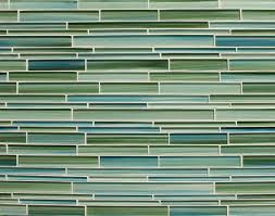 sample rip curl green and blue hand painted linear glass mosaic