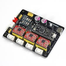 eleksmaker mana 3 axis stepper motor controller driver board for