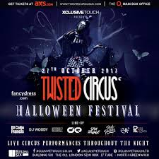 halloween 2017 twisted circus halloween festival 2017 tickets building six