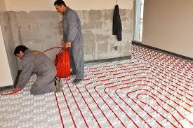 underfloor heating system installation carpet vidalondon