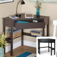 Tms Corner Desk 13 Best Brown Computer Desk 4tier Shelving Home Office Study