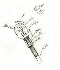 tattoo gun sketch gun