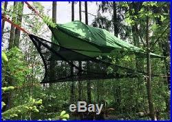tree tent tensile stingray 3 person hanging hammock hiking camping