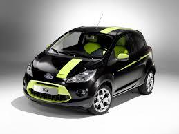 new ford ka black u0026 juicy green ford ka car misterauto