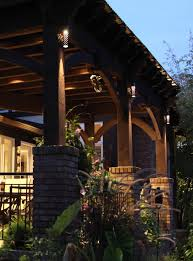Outdoor Pergola Lights by Patio Pergola And Deck Lighting Ideas And Pictures
