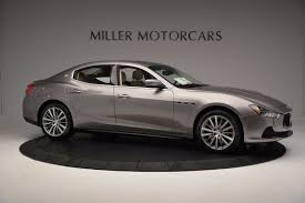 custom maserati sedan 2017 maserati ghibli sq4 ex loaner stock m1717 for sale near