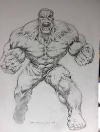 hulk pencil drawing incredible hulk hulk