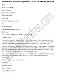 Free Sample Business Letter by Acknowledgement Letter Sample For Business Image Collections