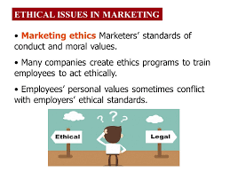 ethical issues in marketing ethics in marketing learning objectives after studying this