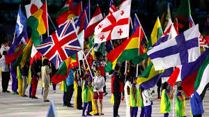 Ceremony Flag Manchester U0027s Kate Richardson Walsh Leads Team Gb In Closing