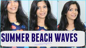 Easy Hairstyles Wavy Hair by Easy Beach Waves Hairstyle 5 Minutes Easy Hairstyles
