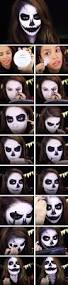 halloween contacts with prescription 22 scary halloween makeup step by step tutorials skeletons