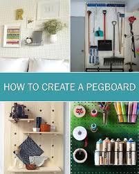 how to create a pegboard storage wall for craft rooms offices or