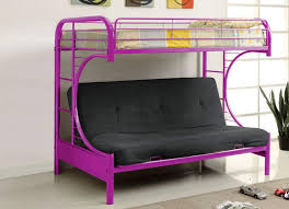 Purple Bunk Beds Purple Futon Bunk Bed Ideas Capricornradio Homescapricornradio Homes