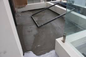 frustration of rain on tile screed with exposed balconies u2013 efflock