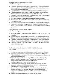 Network Engineer Resume Example by Wallace Nelson Network Engineer Resume